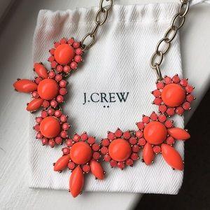 Neon J. Crew Statement Necklace